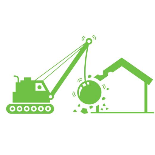 Wyburzenia budynków orazurządzeń inżynieryjnych