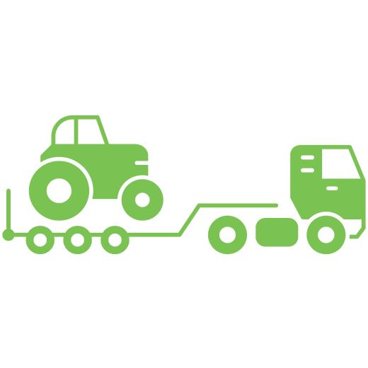 Transport materiałów budowlanych orazsprzętu